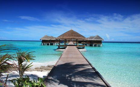 Bungaló a Maldív-szigeteken