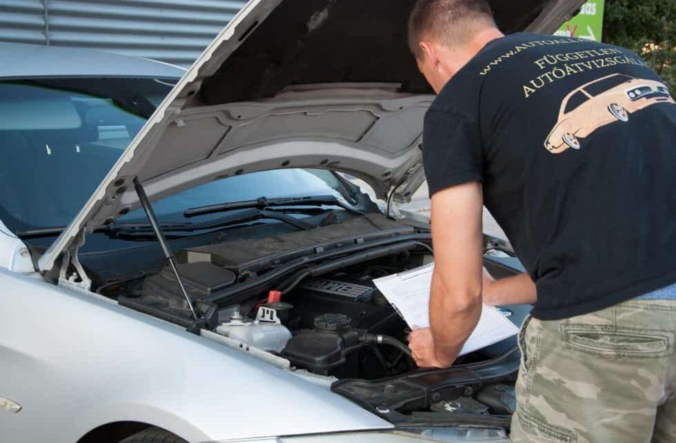 autó átvizsgálás